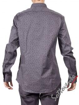 Рубашка серая   Varvatos W459. Image 1