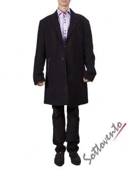 Пальто чёрное  Varvatos 0897. Image 0