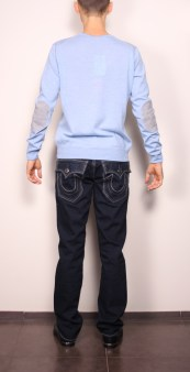 Свитер голубой Panicale Cashmere Image 1