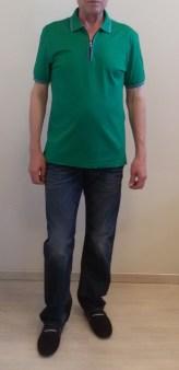 Поло зеленое Benigni 262Z92G Image 0