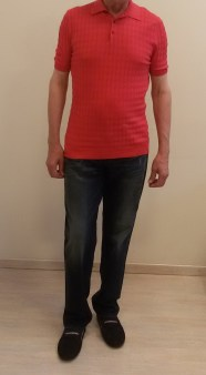 Поло красное Benigni 124-061 26W Image 0