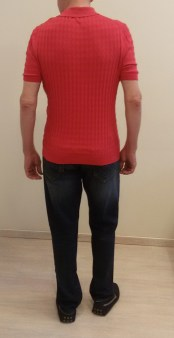 Поло красное Benigni 124-061 26W Image 1