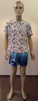 Плавки бел.синие с акулой MC2 арт.JAWS Image 0