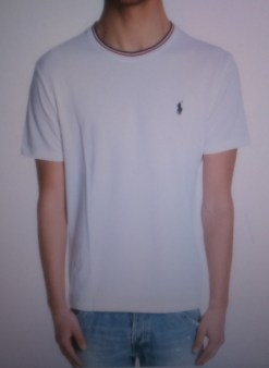 Футболка белая Ralph Lauren арт.A16XZ7SK Image 0