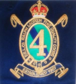 Поло синее с длинным рукавом с гербом  Ralph Lauren арт.A12XZ7ZG Image 1