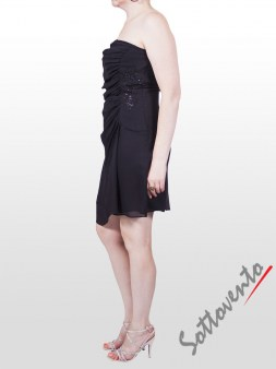 Платье чёрное  Faith 114. Image 2