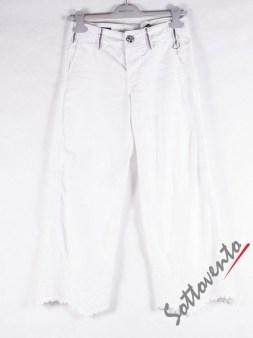 Брюки-капри белые  High 701250. Image 2