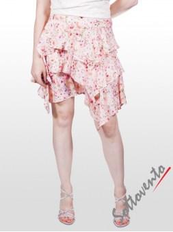 Юбка розово-белая Blugirl Folies 8776. Image 1