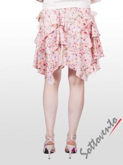 Юбка розово-белая Blugirl Folies 8776. Image 2