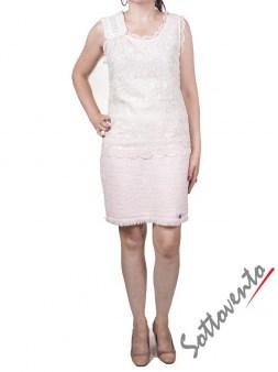 Юбка  розовая Blugirl Folies 8758. Image 2