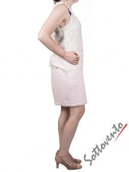 Юбка  розовая Blugirl Folies 8758. Image 3