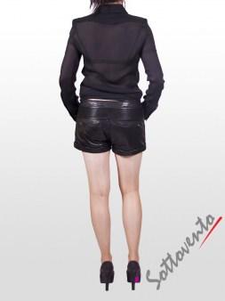 Рубашка чёрная  Versus B0TAB624 Image 4