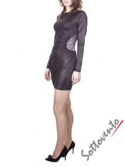 Платье чёрное  Philipp Plein 2001. Image 2
