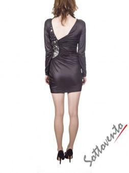 Платье чёрное  Philipp Plein 2001. Image 1