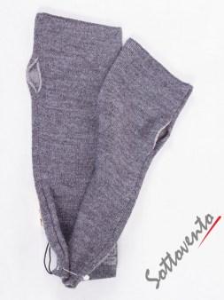 Перчатки серые Galliano  085. Image 0