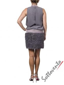 Платье серое Valentino Red BRAVS3HH Image 2