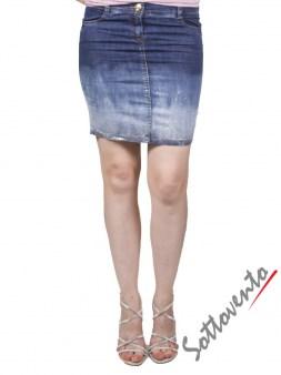 Юбка синяя  Blugirl Folies 8802. Image 1