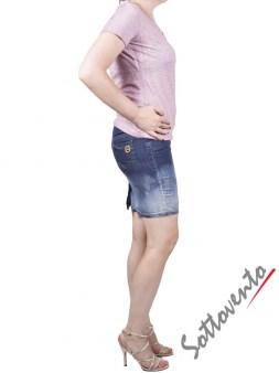 Юбка синяя  Blugirl Folies 8802. Image 4
