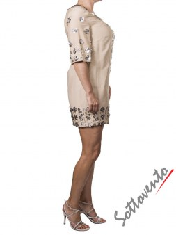 Платье бежевое  Matthew Williamson М051. Image 4