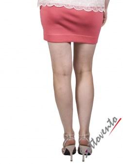 Юбка розовая  Faith 4607М7. Image 2