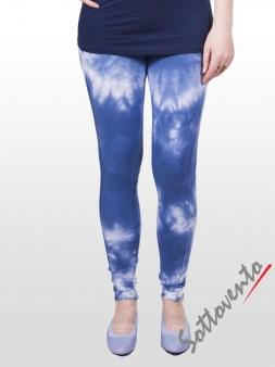Легинсы сине-белые  Deha В42275. Image 1