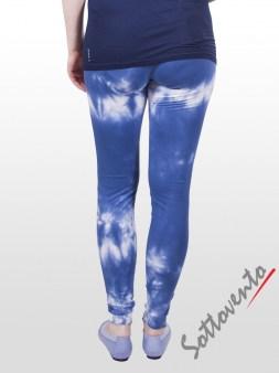 Легинсы сине-белые  Deha В42275. Image 2