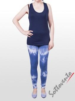 Майка тёмно-синяя  Deha В42034. Image 2