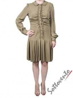 Платье зелёное  Valentino Red DROVS9C5. Image 0