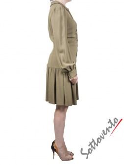 Платье зелёное  Valentino Red DROVS9C5. Image 2