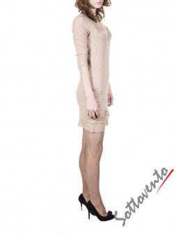 Платье бежевое  Ermanno Scervino Street 644. Image 2