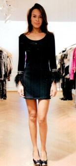 Платье  чёрное Philipp Plein 2911. Image 0