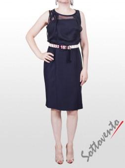 Платье  синие I'M Isola Marras 321260. Image 1