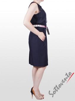 Платье  синие I'M Isola Marras 321260. Image 3