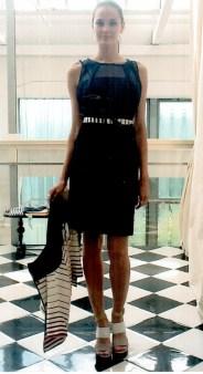 Платье  синие I'M Isola Marras 321260. Image 0