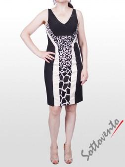 Платье чёрно-белое  I'M Isola Marras 321271. Image 0