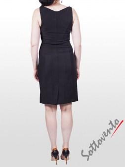Платье чёрно-белое  I'M Isola Marras 321271. Image 1