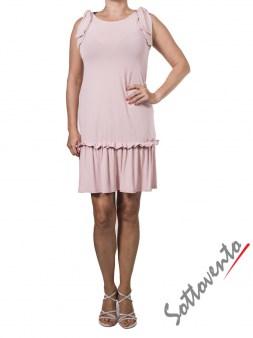 Платье розовое  Valentino Red ANA801. Image 0