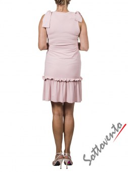 Платье розовое  Valentino Red ANA801. Image 1
