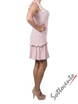 Платье розовое  Valentino Red ANA801. Image 2