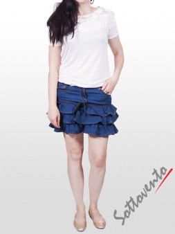 Юбка синяя  Valentino Red AD28AA Image 2