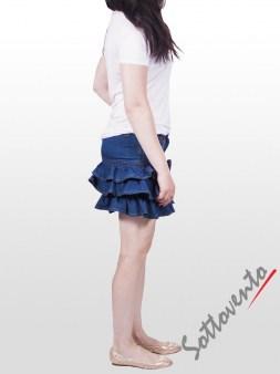 Юбка синяя  Valentino Red AD28AA Image 3