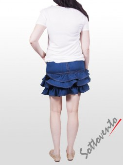 Юбка синяя  Valentino Red AD28AA Image 4