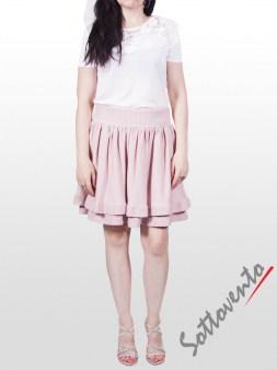 Юбка розовая  Valentino Red 9Е852. Image 2