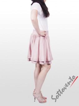Юбка розовая  Valentino Red 9Е852. Image 3