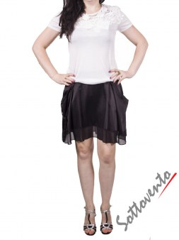Юбка  чёрная Karl Lagerfeld 81618016. Image 2