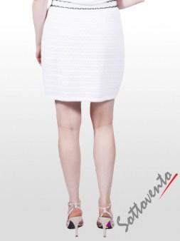 Юбка белая  Valentino Red 9E806. Image 1
