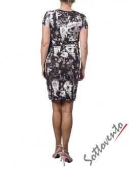 Платье  чёрно-белое Richmond 4021. Image 1