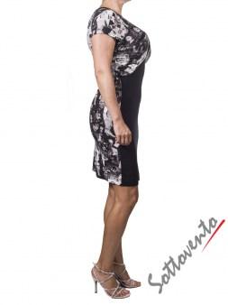 Платье  чёрно-белое Richmond 4021. Image 2