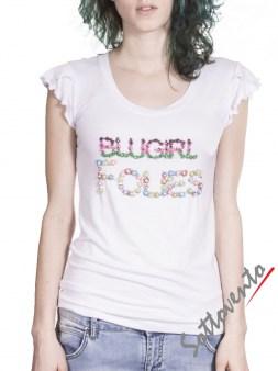 Футболка белая  Blugirl Folies 4160. Image 1