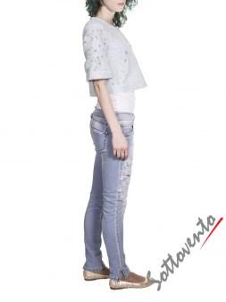 Пиджак  голубой Blugirl Folies 05156. Image 4